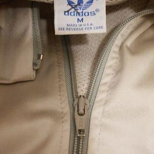 adidas Jackets & Coats - Vintage Adidas windbreaker zip 2 tone vents H212